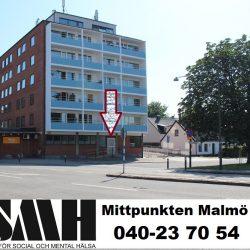 Idunsgatan 75, Tel: 040-23 70 54 TRÄFFPUNKTEN – RSMH Mittpunkten Malmö
